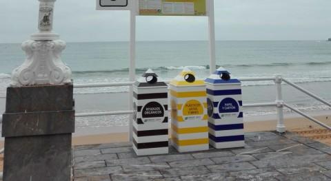 53 operarios trabajan diario limpieza playas Gijón