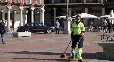marcha campaña limpieza barrios Valladolid