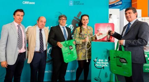 """campaña """"Lo que se enchufa, se recicla"""" recorrerá casi 200 ayuntamientos gallegos"""