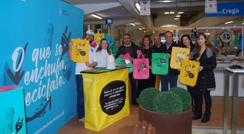 campaña 'Lo que se enchufa, se recicla' llega O Carballiño