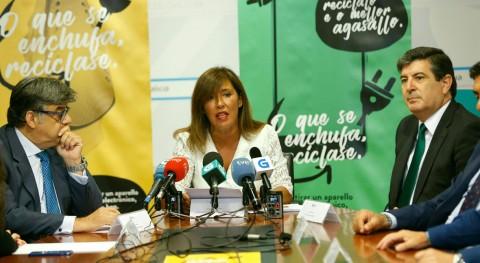 Lo que se enchufa, se recicla: Nueva campaña fomentar reciclaje RAEE Galicia
