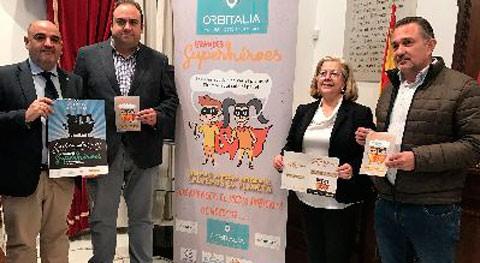 campaña reciclaje y cambio climático ''Grandes Superhéroes'' llega Lorca