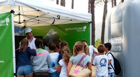 escolares, que más saben reciclaje Galicia
