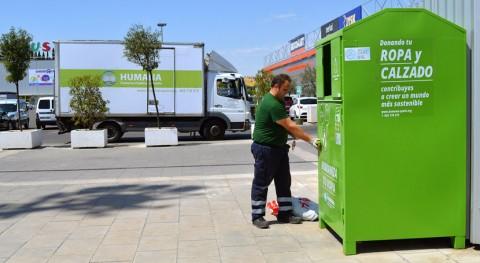 españoles depositan 18.000 toneladas textil usado contenedores Humana 2016