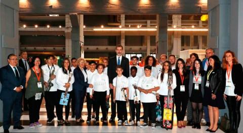 niños ' Música Reciclaje', inauguración Foro Violencias Urbanas