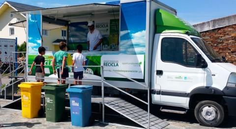 buenas prácticas reciclaje llegan playa Coroso, Ribeira