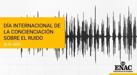 Cerca 100 entidades acreditadas ENAC aportan garantías control ruido