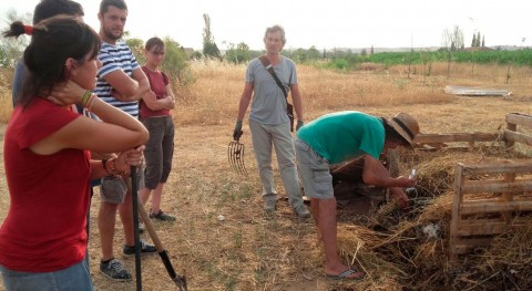 Éxito Madrid Agrocomposta: Más 17.500 kilos materia orgánica recuperados compostaje