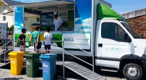 "campaña ""Oportunidades Galicia. Separemos ben, reciclaremos mellor"" se desplaza Malpica"