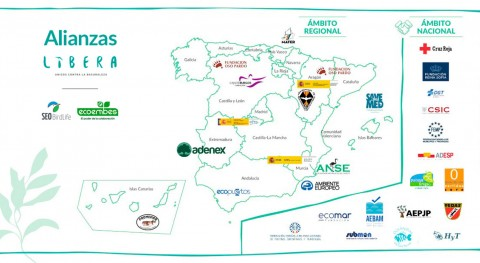 Proyecto LIBERA impulsa red 29 alianzas atajar problema basuraleza