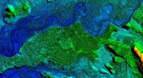 Más 160.000 archivos información cartográfica Navarra se pueden descargar gratuitamente