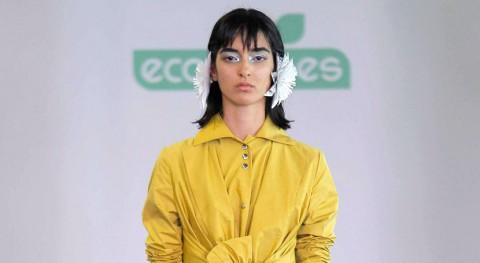 María Clè Leal abre Mercedes Benz Fashion Week Madrid colección une moda y reciclaje