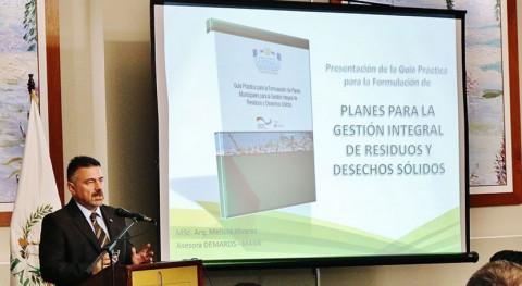 Nueva herramienta mejorar gestión desechos sólidos municipalidades Guatemala