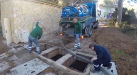 Calvià retira 25 toneladas residuos red saneamiento