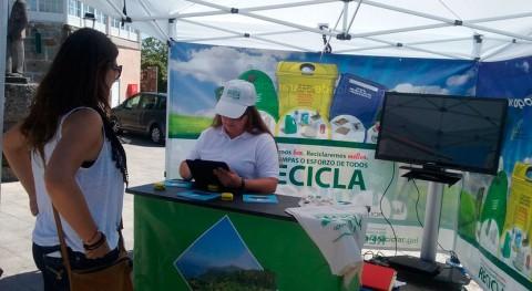 """Monterrei y Castrelo Miño se unen """"Oportunidades Galicia"""" incentivar reciclaje"""