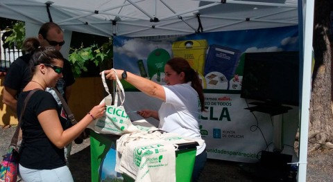 concellos pontevedreses Mos y Ponte Caldelas suman esfuerzos aumentar reciclaje