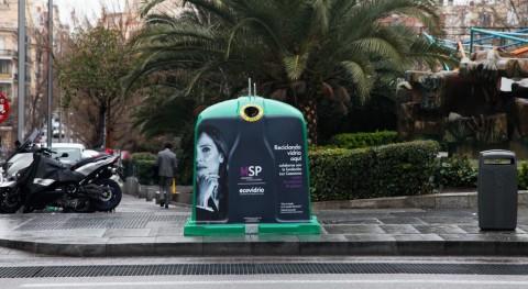 reciclaje vidrio se une al 'Movimiento Piedad' violencia género