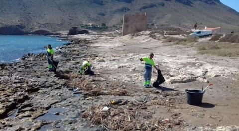 Murcia retira casi 122.000 kilos plásticos y residuos espacios naturales protegidos 2018