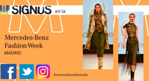 Recycling is the new black: neumático reciclado llega Mercedes Benz Fashion Week
