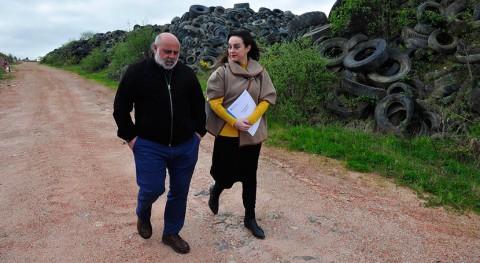 Gobierno gallego finalizará Laracha valorización neumáticos históricos Galicia