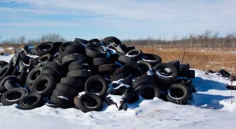 2015 se recogieron España 61.230 toneladas neumáticos usados