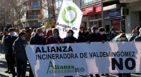 3.000 personas se manifiestan reclamar cierre incineradora Valdemingómez