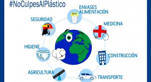 industria plástico lanza campaña #NoCulpesAlPlástico