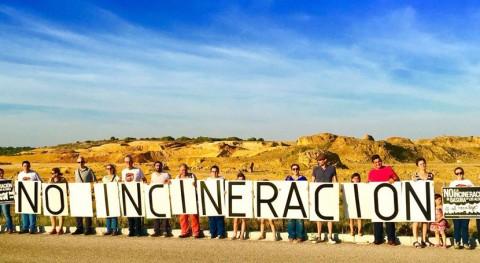 Acto protesta incineración residuos Alcores