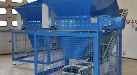 Triturador B400 módulo corte ampliado 850 mm