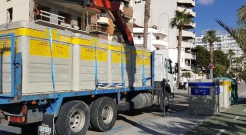 Almuñécar y Herradura mejoran servicio reciclado residuos nuevos contenedores