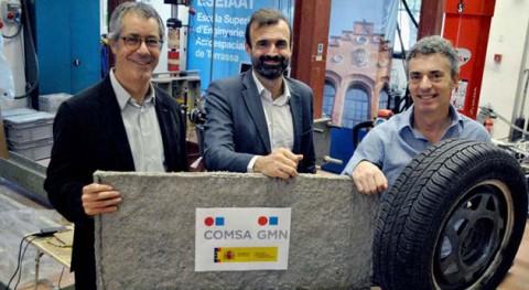 Nace nuevo material partir textil neumáticos desuso aislar edificios
