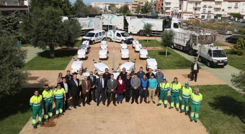 Rota, vanguardia vehículos sostenibles limpieza viaria y recogida residuos