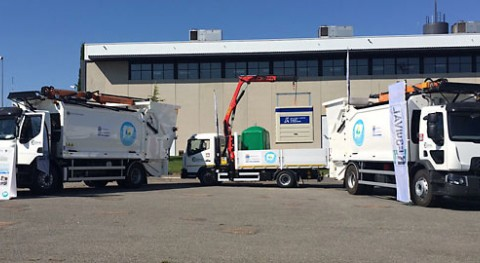 provincia Salamanca incorpora tres nuevos vehículos recogida selectiva residuos