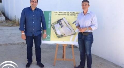 Iniciadas obras construcción punto limpio recogida residuos Bornos