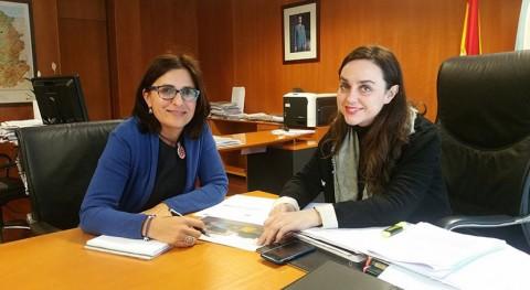 Xunta analiza posibles colaboraciones materia residuos ayuntamiento Oímbra