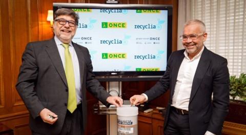 ONCE reciclará pilas y residuos electrónicos través red Recyclia