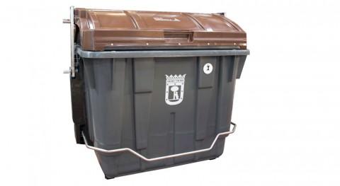 contenedores tapa marrón basura orgánica llegan 100.000 viviendas Madrid