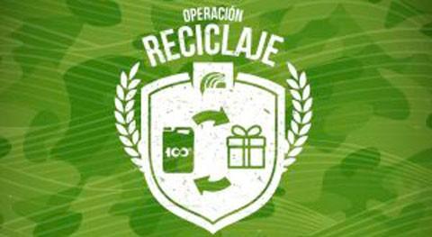 Operación Reciclaje: Disponible armamento acabar contaminación web Sigfito