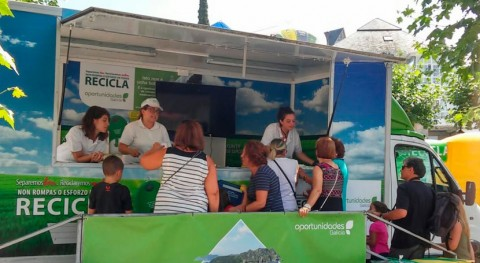 reciclaje, protagonista VII Campeonato España Remo celebrado Castrelo Miño