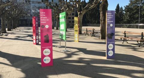 "exposición itinerante ""Menos residuos = Más recursos"", llega al concello coruñés Ordes"