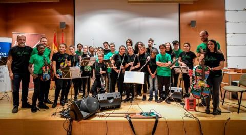 Orquesta Música Reciclaje ofrece concierto solidario