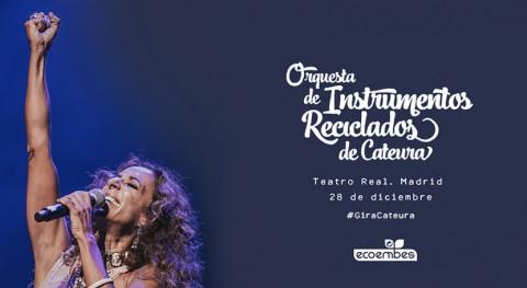 Rosario Flores se une Orquesta Instrumentos Reciclados Cateura Madrid
