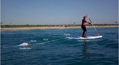 Ciencia y surf estudiar contaminación microplásticos litoral Barcelona