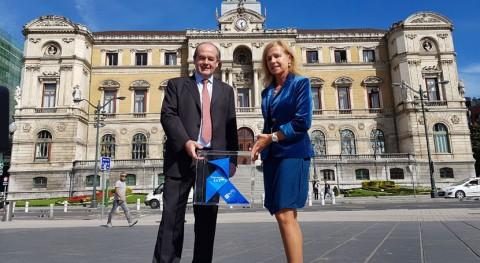 Pajarita Azul llega Bilbao recorrido ciudades líderes reciclaje papel