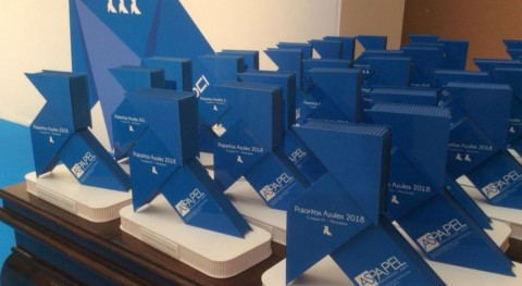 36 ayuntamientos reciben Pajaritas Azules reciclaje papel y cartón