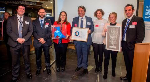 Pajaritas Azules recibe European Paper Recycling Award Parlamento Europeo