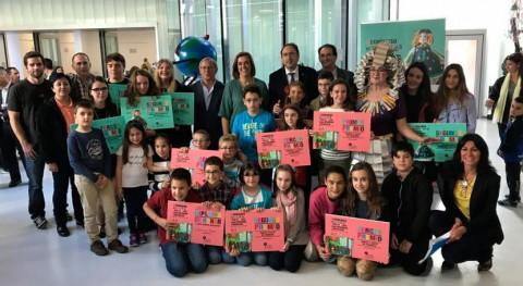 Inauguradas Palencia exposiciones Reciclar-te y Relatar reciclar 2017
