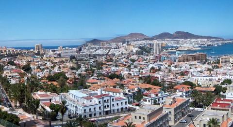 Canarias coloca losas hormigón ecológico calles distintas ciudades islas
