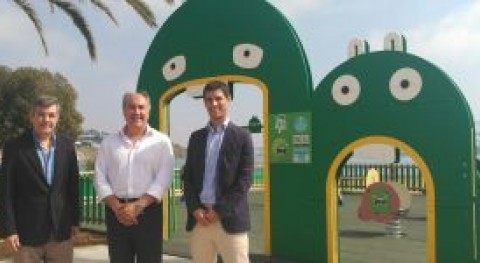 Ecovidrio inaugura parque infantil Mr. Iglú Algeciras