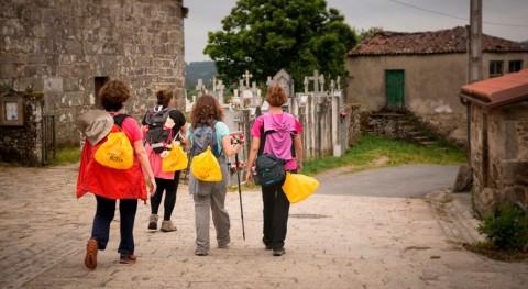 peregrinos Camino Santiago reciclaron 142.500 kilos envases durante pasado verano